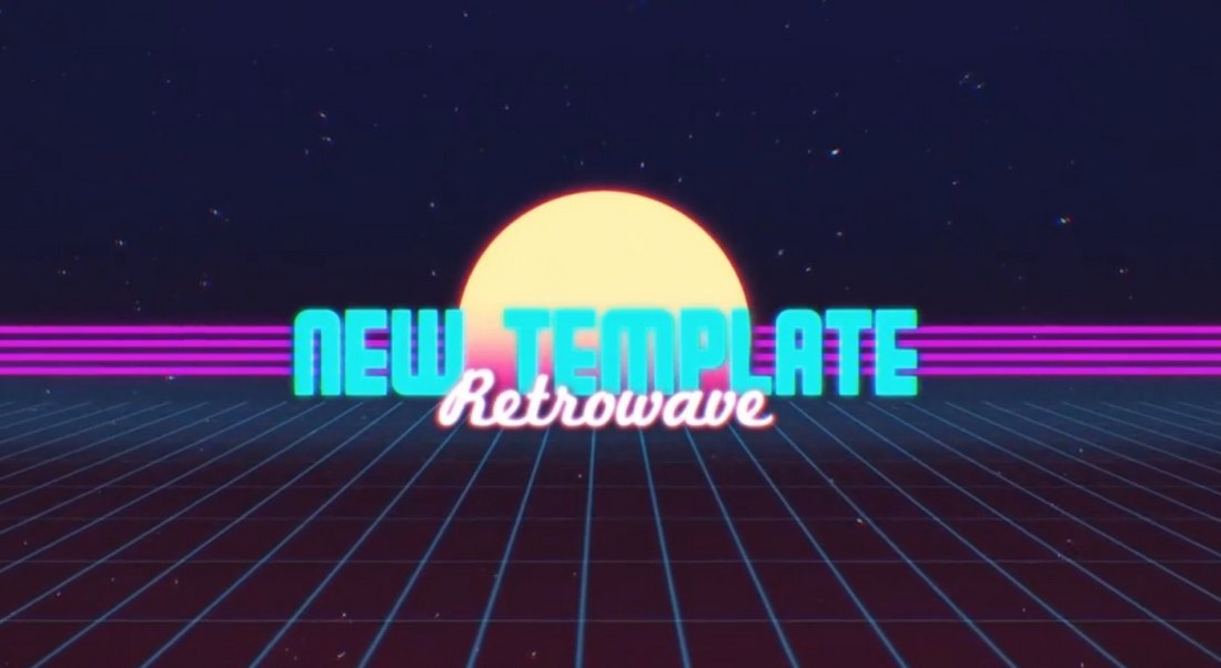 Retro Title - Premiere Pro Animated Title Template