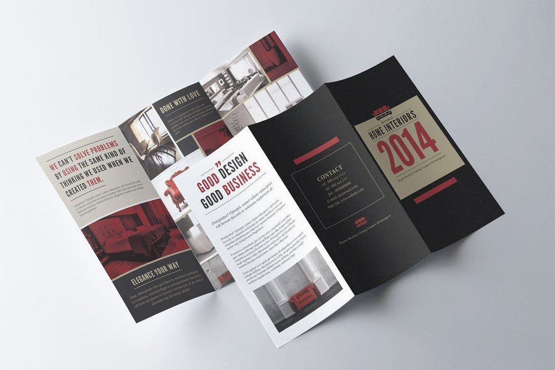 20 best tri fold brochure templates word indesign design shack retro trifold brochure template maxwellsz