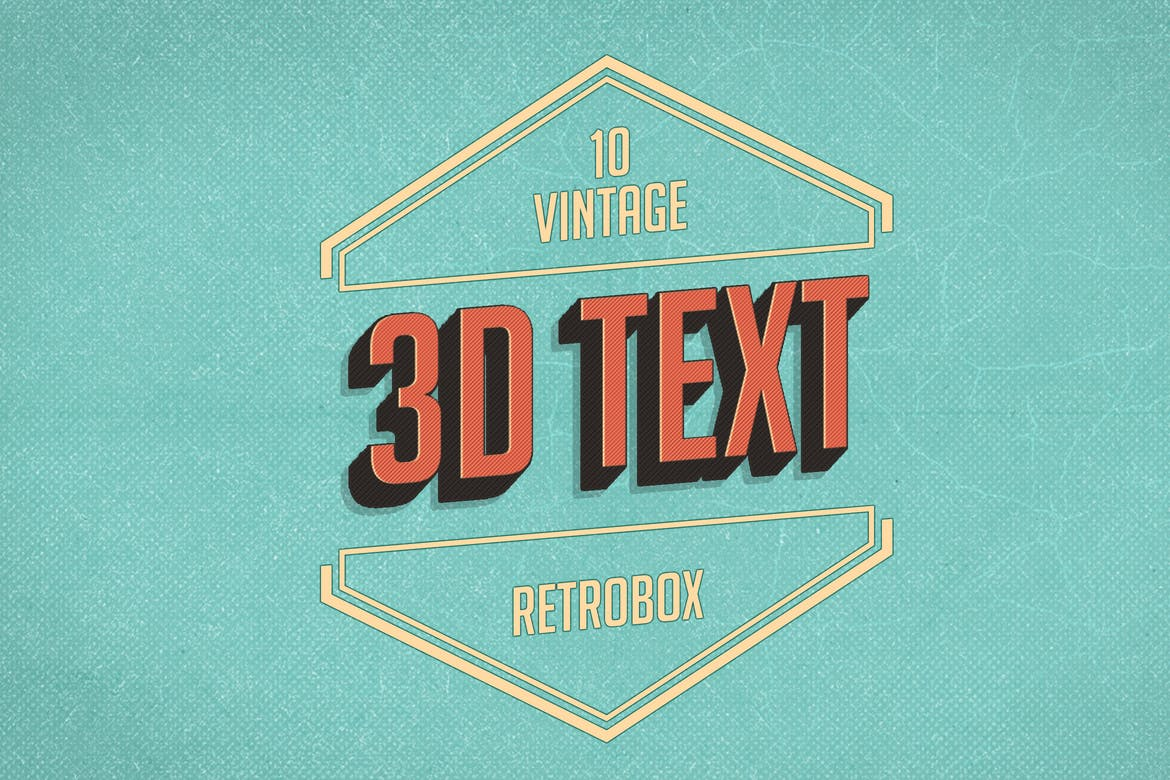 Retro-Vintage-text-effect 30+ Best Retro Text Effects & Styles design tips