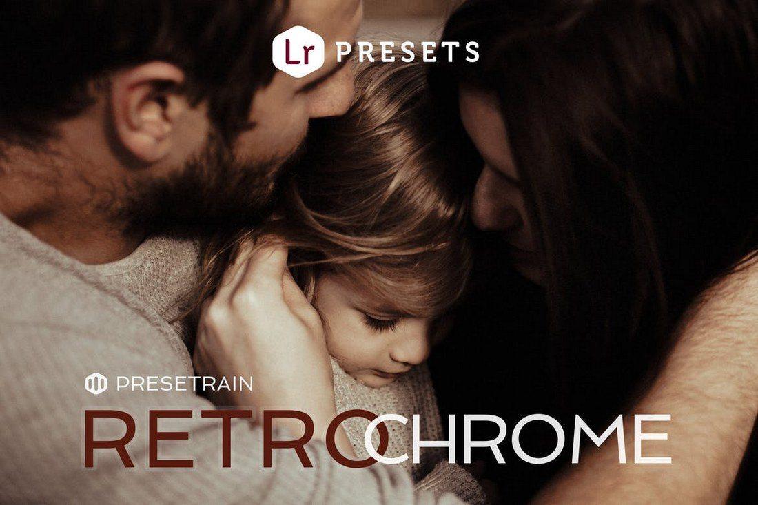 Retrochrome-Lightroom-Presets-2 20 Best Newborn Lightroom Presets for Baby Photography design tips