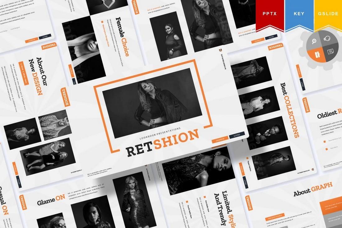 Retshion - Google Slides Presentation Template