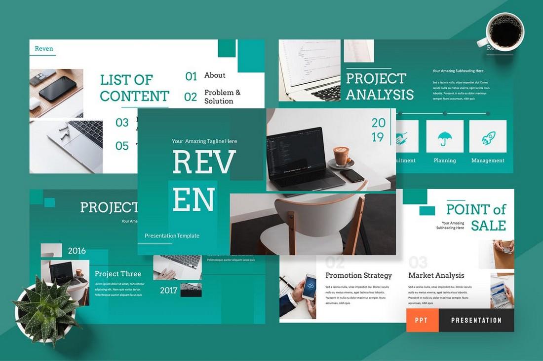 Reven-Pitch-Deck-Powerpoint-Presentation 30+ Best Startup Pitch Deck Templates for PowerPoint 2020 design tips  Inspiration|pitch deck|powerpoint