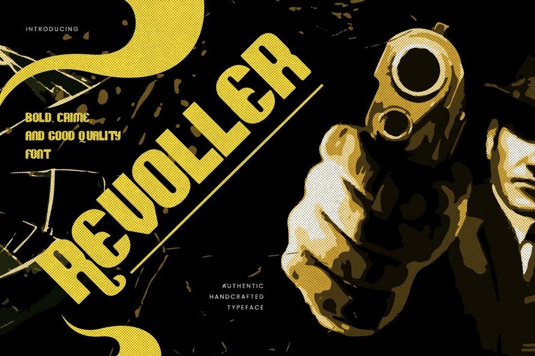 Revoller - Decorative Bold Sans Font