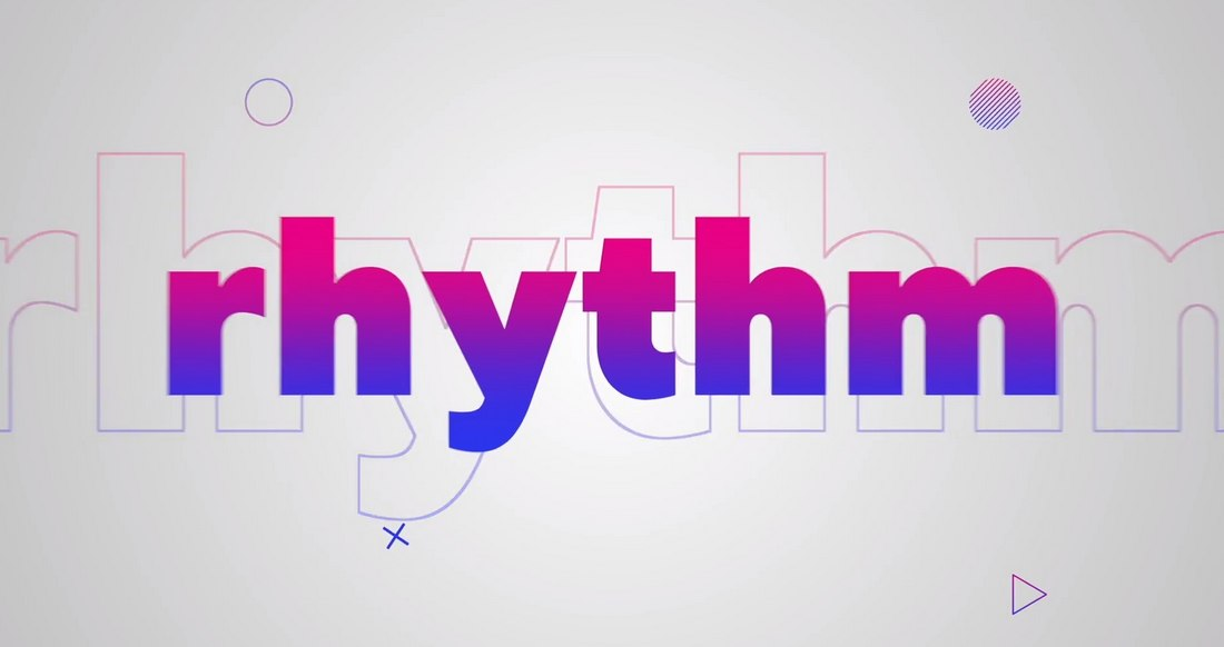 Rhythm-Typography-Final-Cut-Pro-Intro-Template 20+ Best Final Cut Pro Intro Templates 2020 design tips