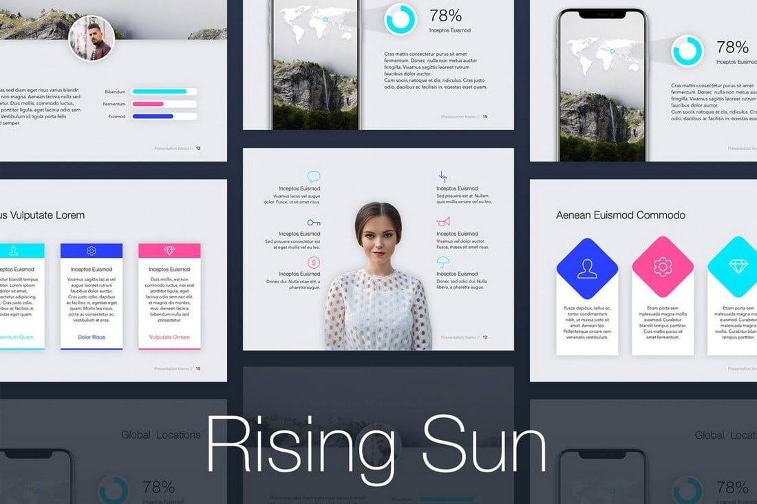 Rising-Sun-PowerPoint-Template 20+ Modern Professional PowerPoint Templates design tips