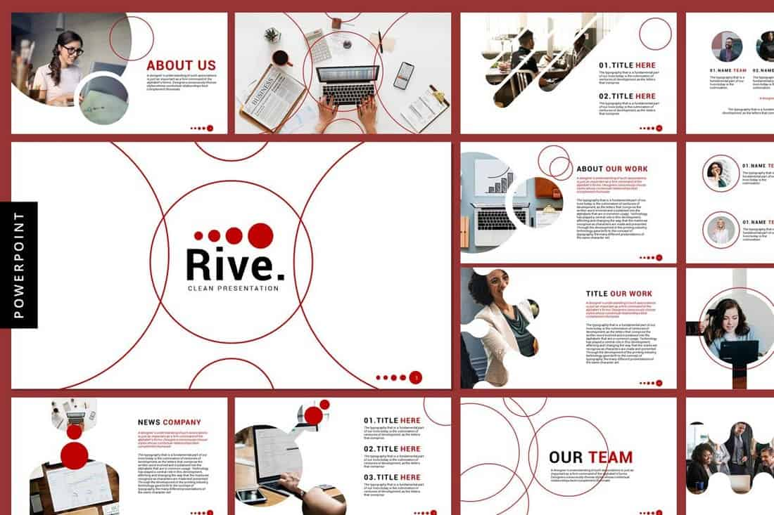 Rive - Business Powerpoint Templates