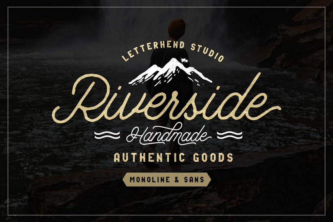 Riverside - Creative Font Duo
