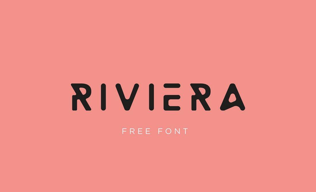 Riviera - Free Creative Font