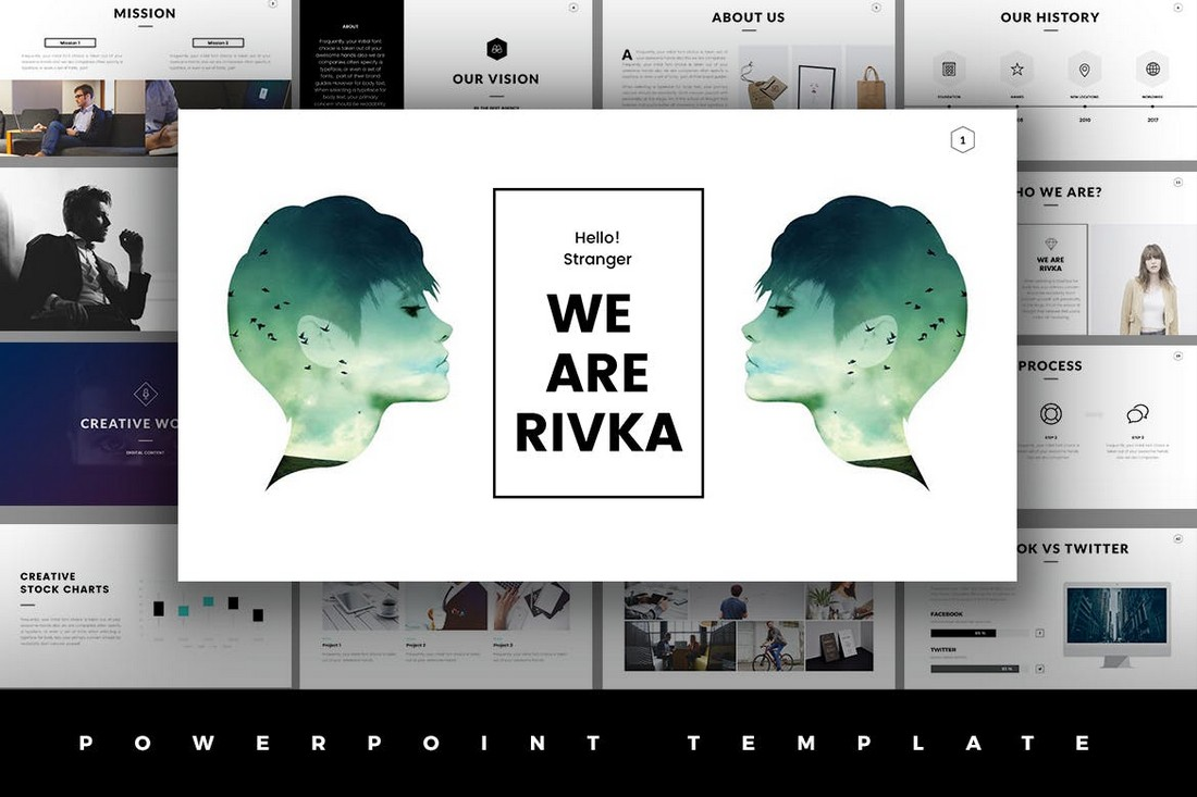 Rivka-Minimal-PowerPoint-Template-1 30+ Animated PowerPoint Templates (Free + Premium) design tips
