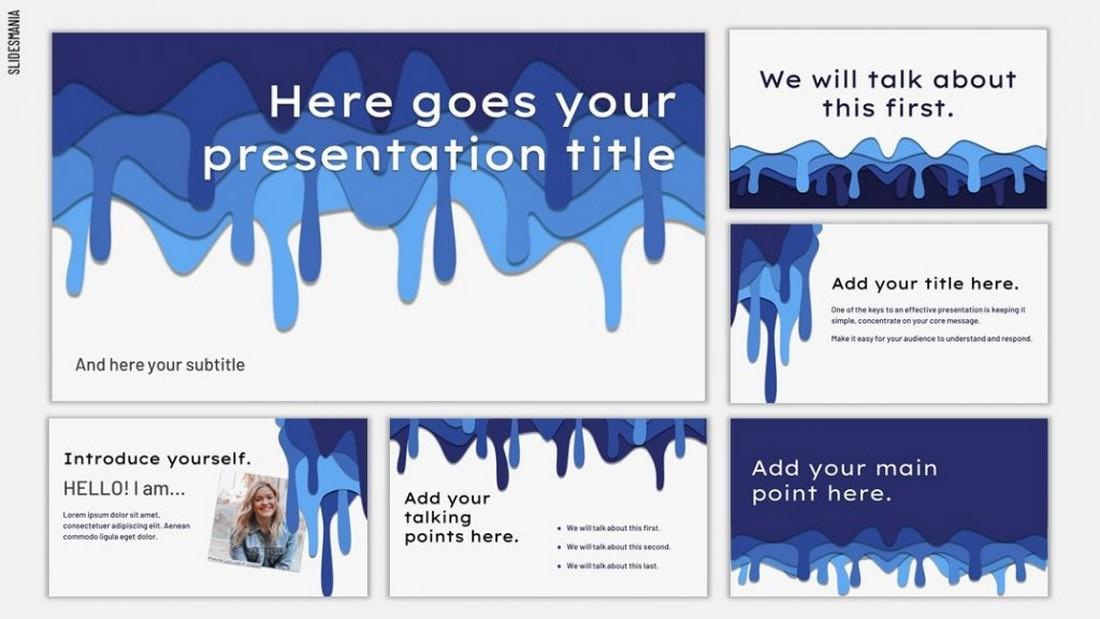 Robin - Free Creative Google Slides Template