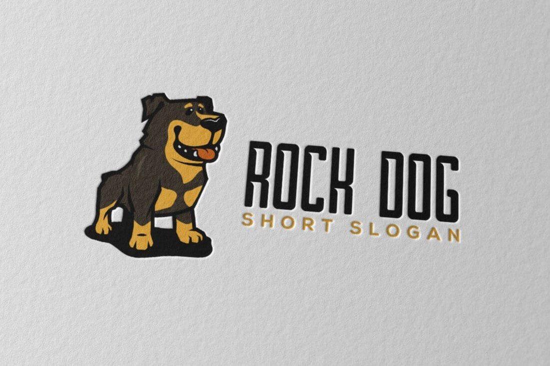 RockDog 50+ Best Minimal Logo Design Templates design tips
