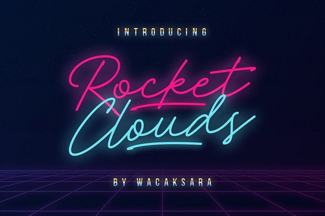 Rocket Clouds Free Polices