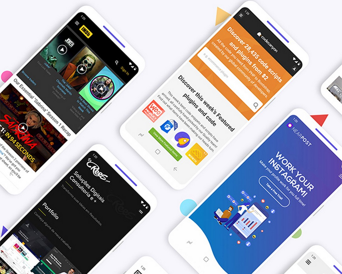 15 Best Android App Templates For Mobile Apps 2020 Design Shack