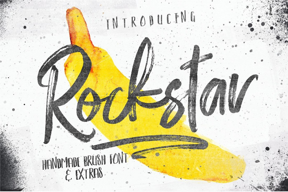 Rockstar-Free-Handmade-Brush-Font-Duo 25+ Free Brush, Script & Hand Lettering Fonts design tips