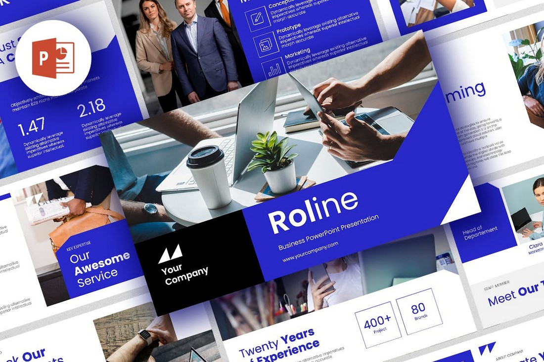Roline - Professional PowerPoint Template