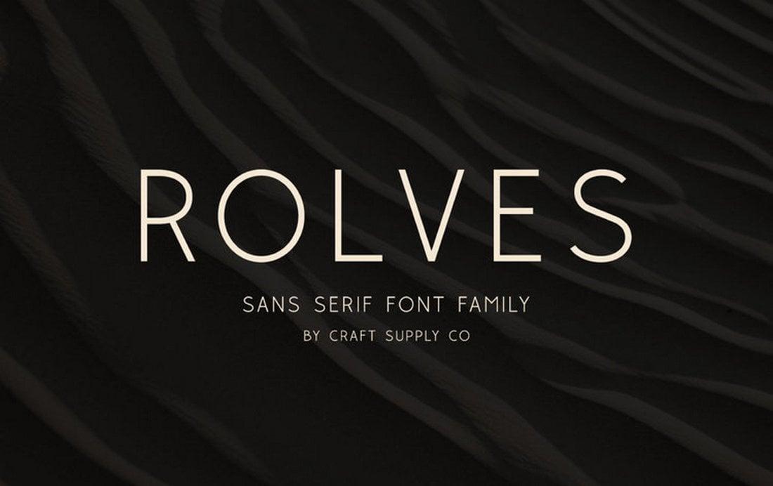 Rolves - Free Elegant Corporate Font