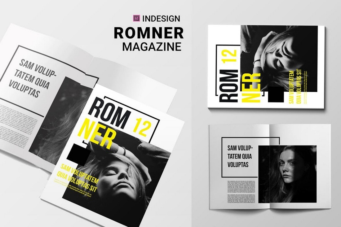 Romner - Modern Magazine InDesign Template
