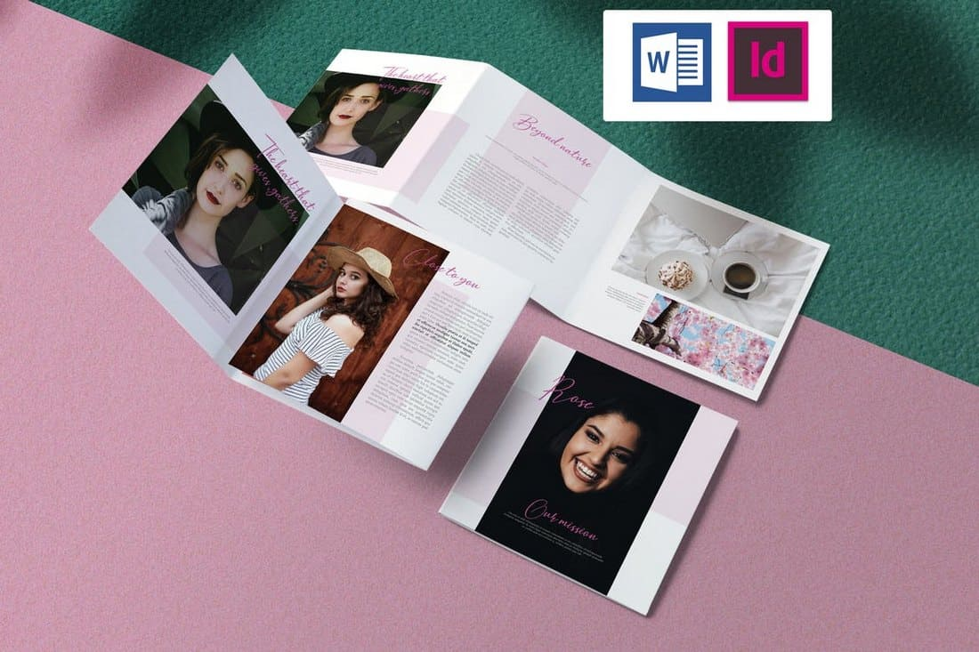 Rose - Feminine Brochure Template