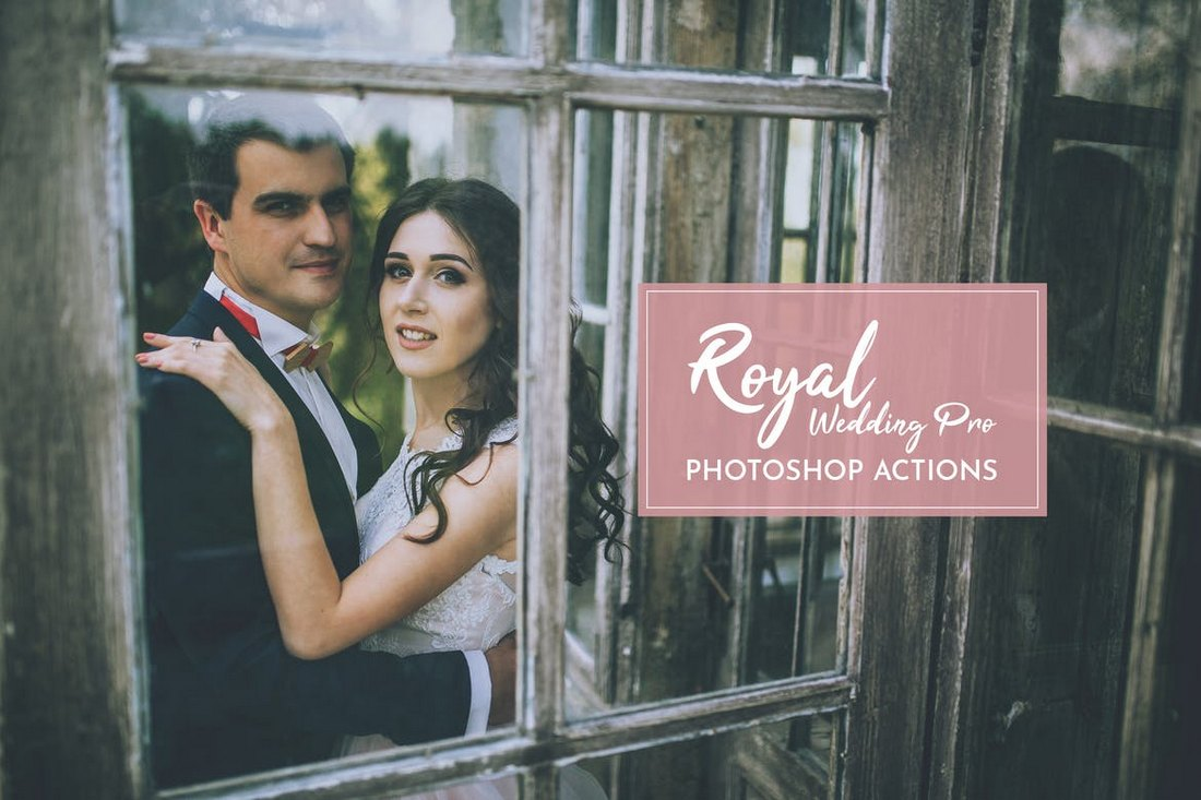 Mariage royal Pro Actions Photoshop