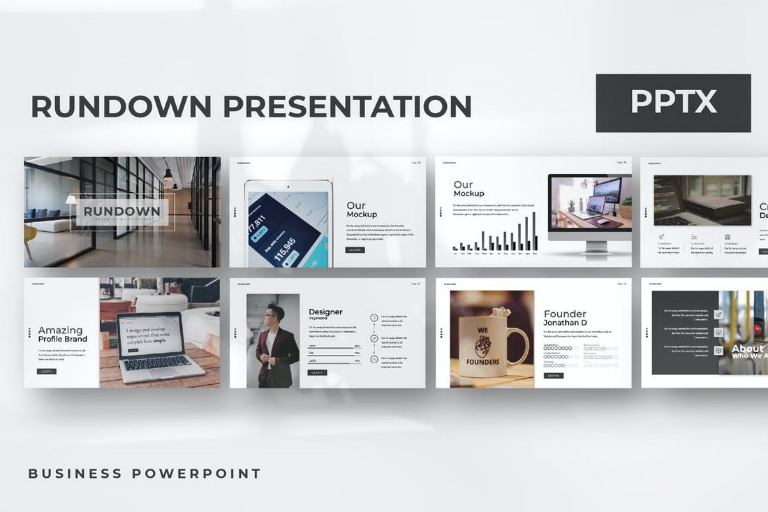 Rundown-Modern-Animated-Powerpoint-Template 30+ Animated PowerPoint Templates (Free + Premium) design tips