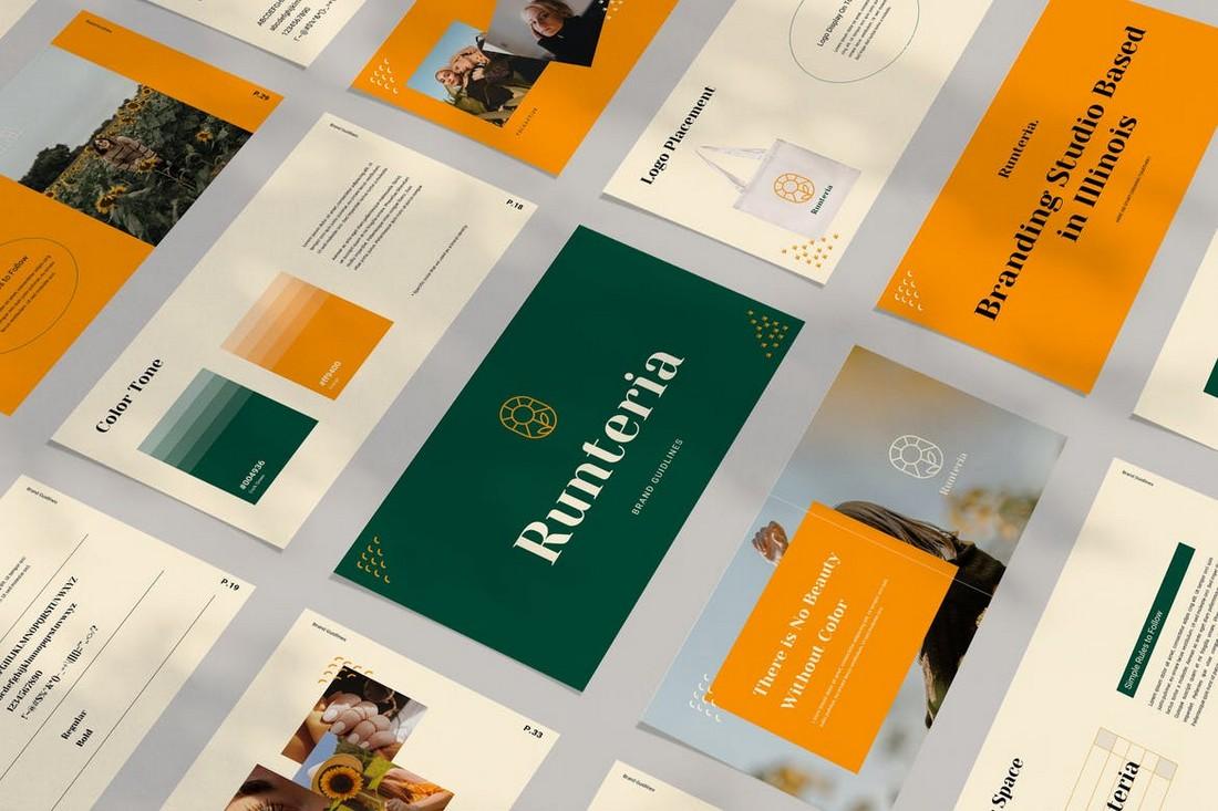 Runteria - Minimal PowerPoint Template