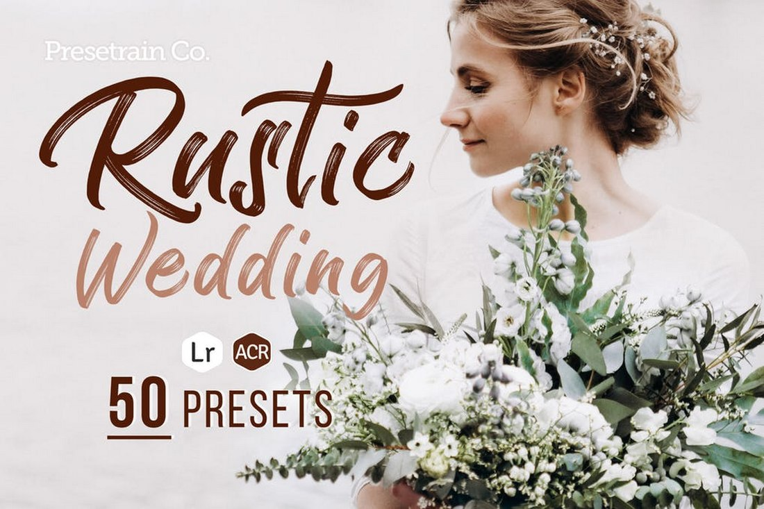 Rustic Wedding - Camera Raw Presets for Photoshop