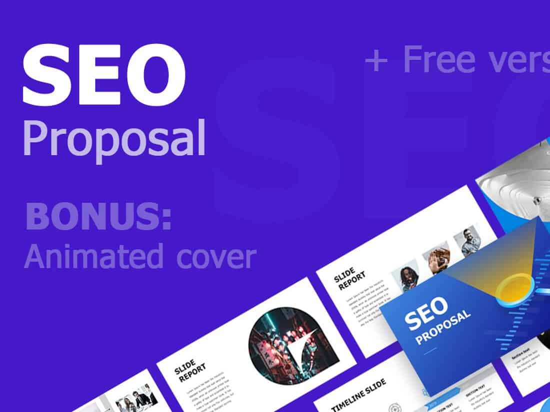 SEO Proposal - Free Powerpoint Template
