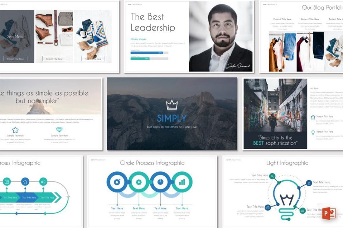 SIMPLY-Powerpoint-Template 20+ Modern Professional PowerPoint Templates design tips