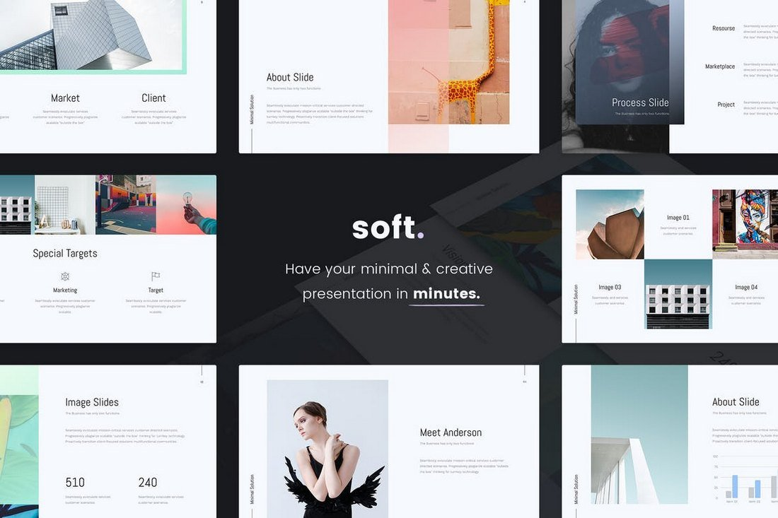 SOFT-Minimal-Cool-PowerPoint-Template 20+ Best Cool PowerPoint Templates design tips