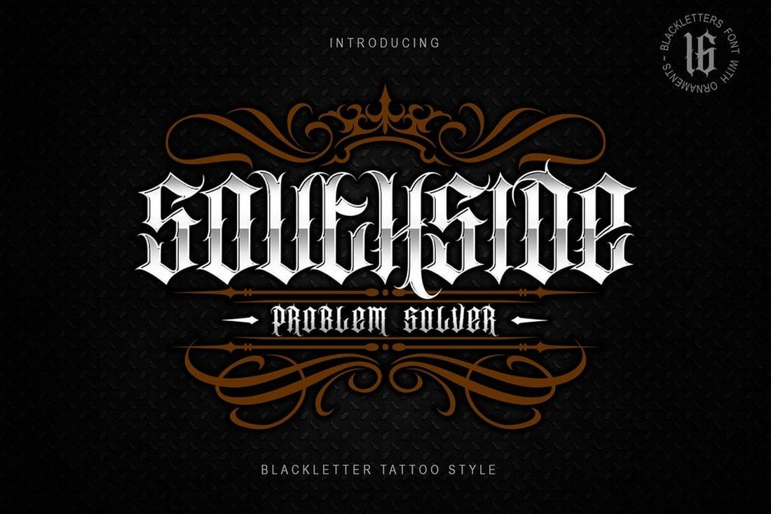 SOUTHSIDE-font 30+ Best Tattoo Fonts & Lettering design tips  Inspiration|tattoo