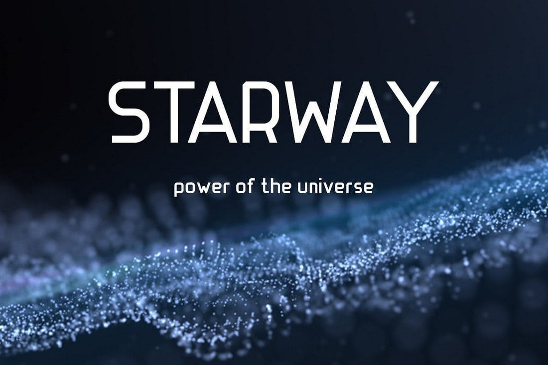 STARWAY - Strict and Stylish Font