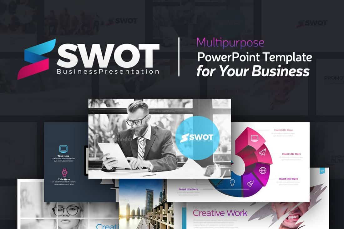 SWOT Business PowerPoint Presentation