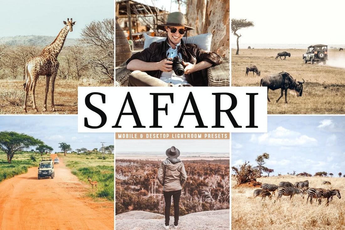 Safari - Travel Mobile & Desktop Lightroom Presets