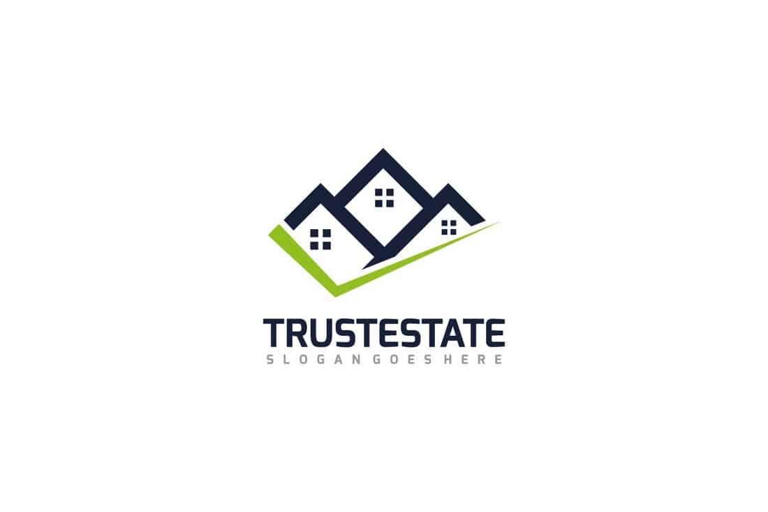 Safe Real Estate Logo Template