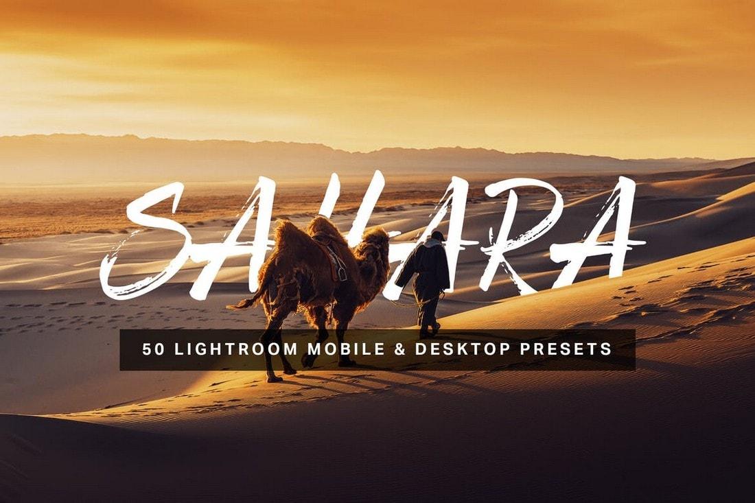 Sahara - 50 Photography Lightroom Presets
