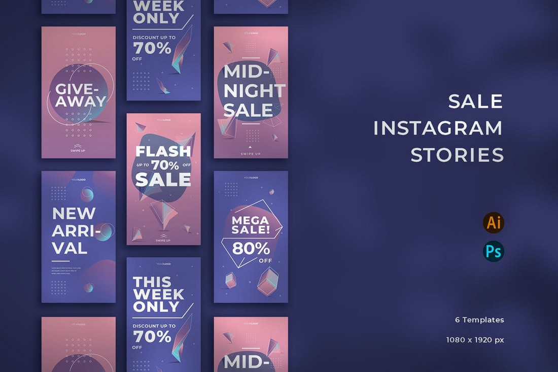Sale Instragram Story Templates