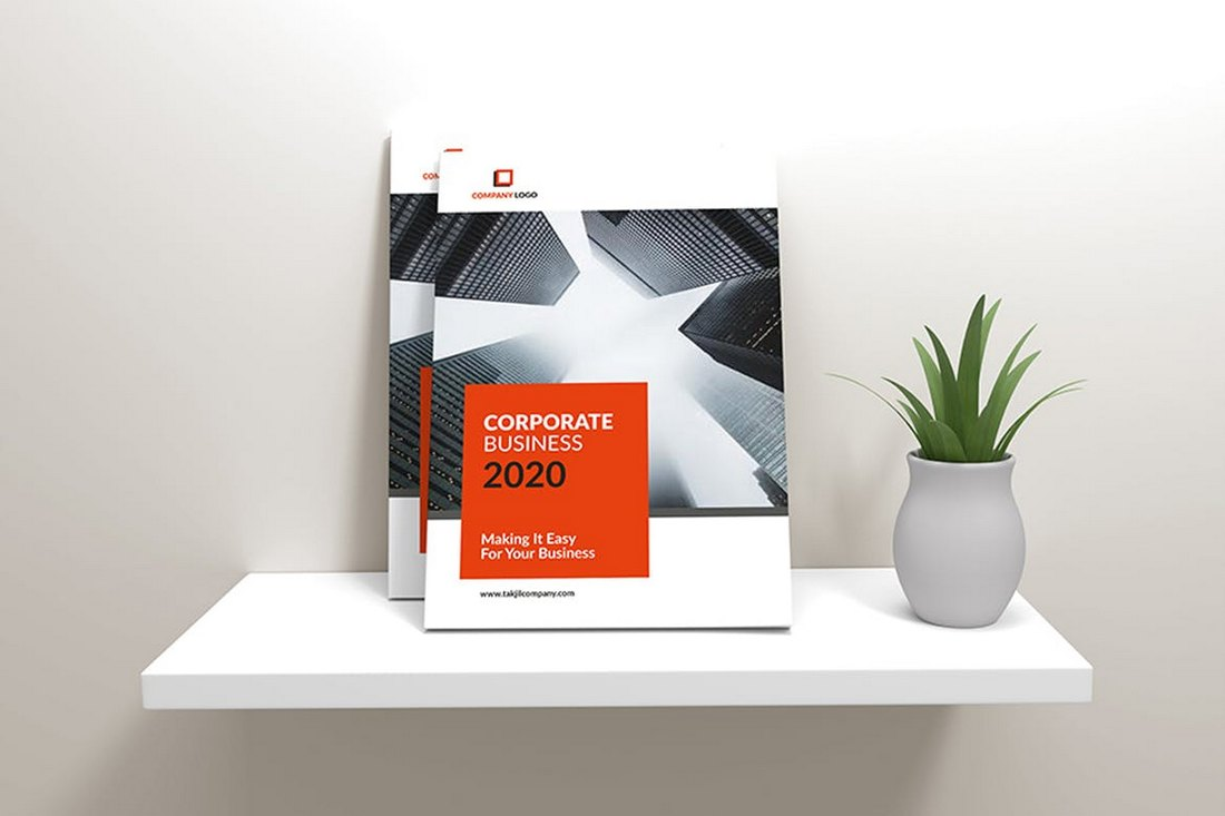Samawa - A4 Business Corporate Brochure Template