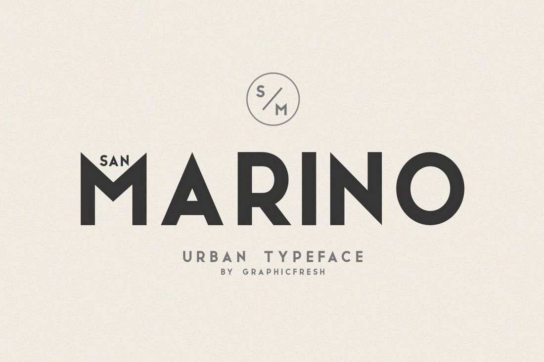 San-Marino-Urban-Font-Family 30+ Best Fonts for Signs design tips  Inspiration