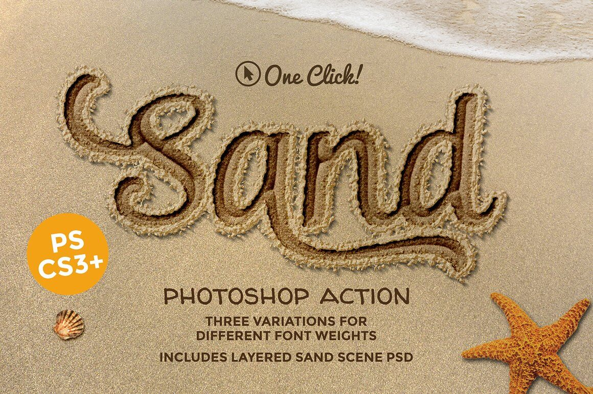 Sand-Photoshop-Action 40+ Best Photoshop Actions of 2018 design tips