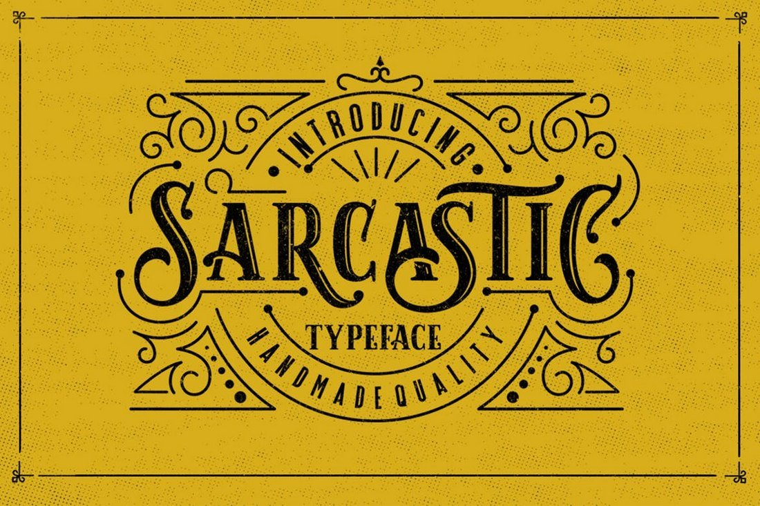 Sarcastic-Tattoo-Font 20+ Best Tattoo Fonts & Lettering design tips