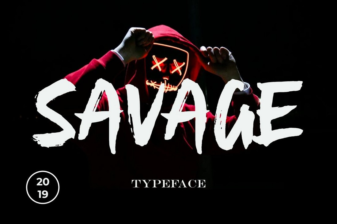 Savage-Creative-Textured-Poster-Font 60+ Best Big, Poster Fonts of 2021 design tips