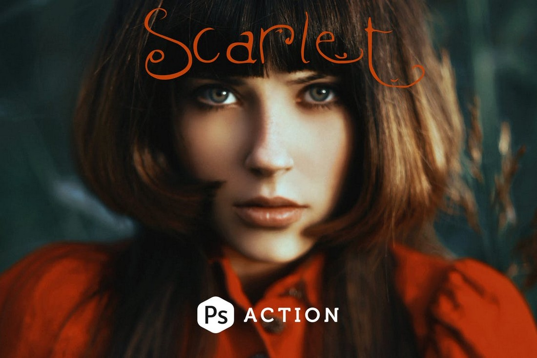 Scarlet Fantasy Photoshop Action