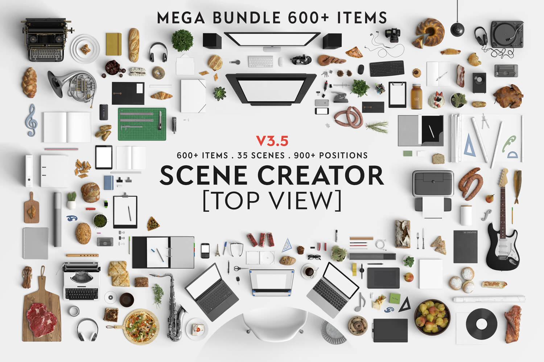Scene-creator-top-view