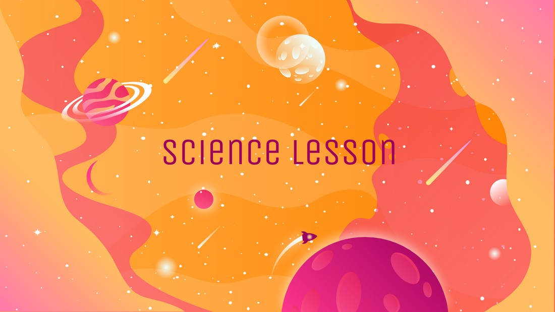 Science Lesson - Free PowerPoint Template