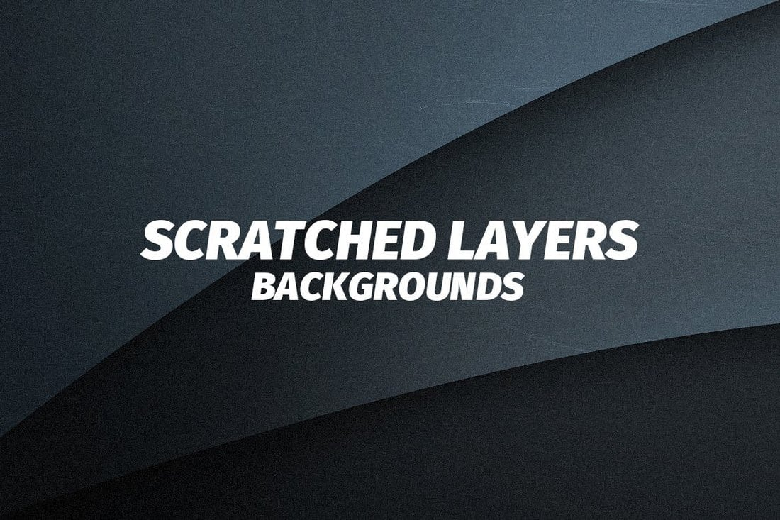 Scratched-Flat-Layers-Backgrounds 20+ Black Texture Background Graphics design tips