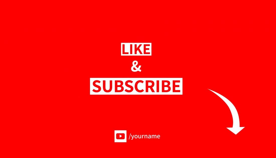 Free Like & Subscribe Elements for TikTok