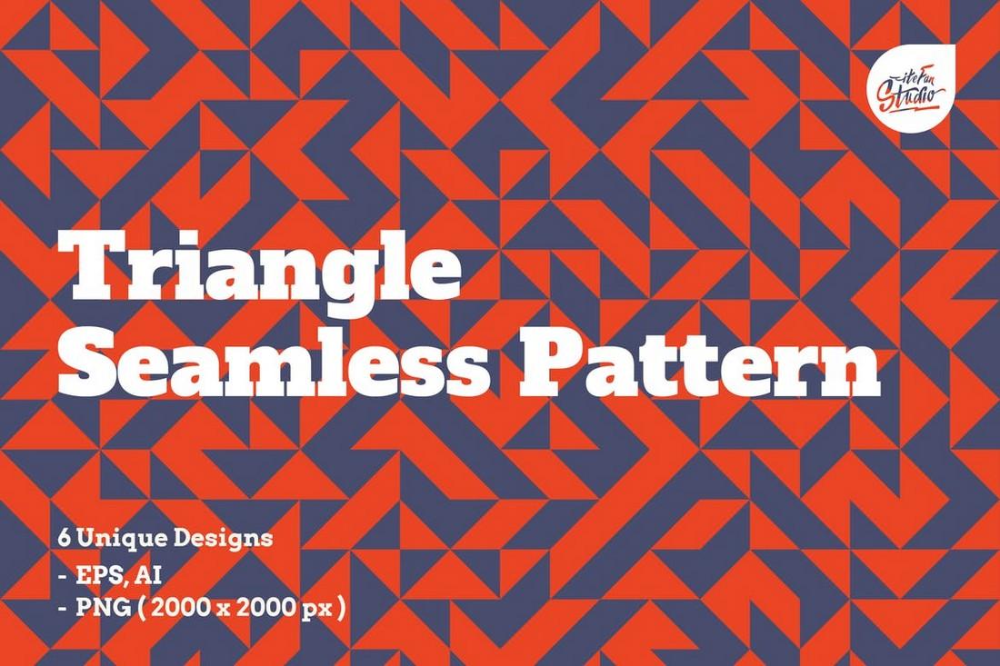 Seamless Triangle Patterns