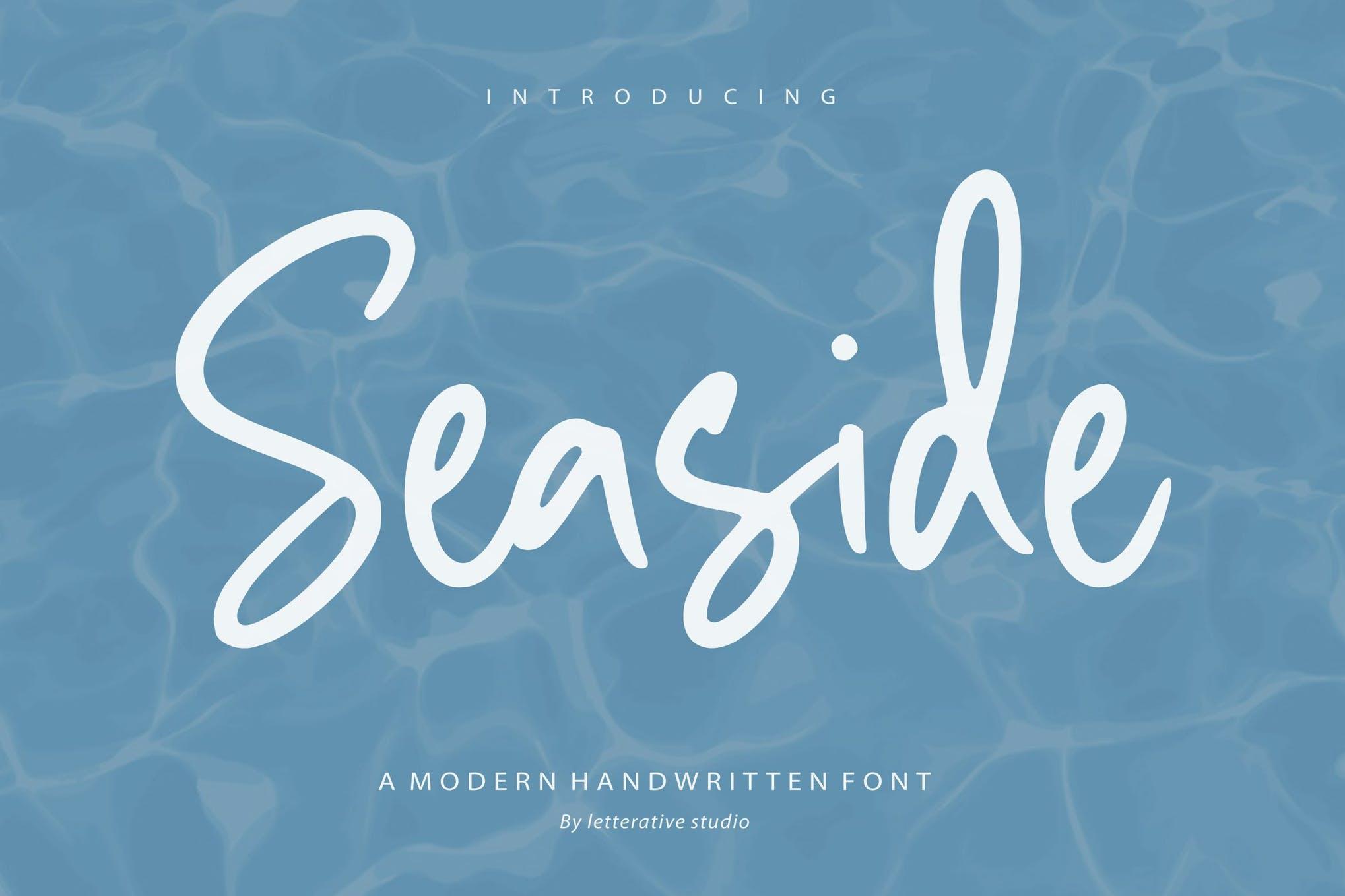 Seaside Handwriting Font