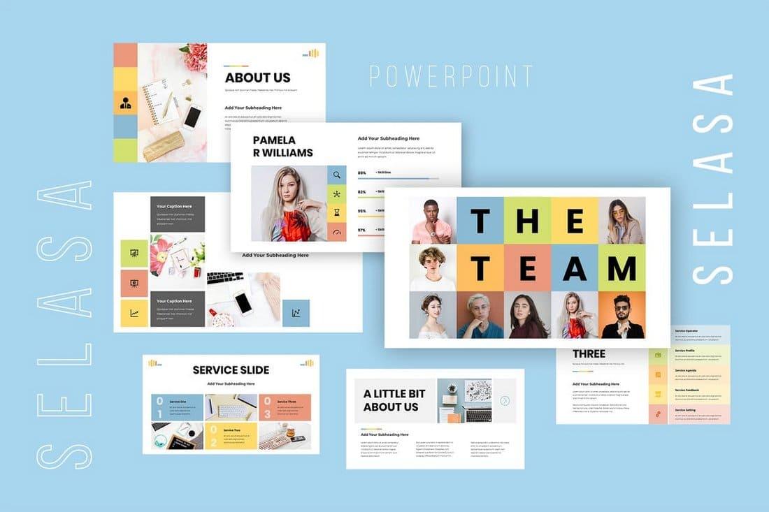 Selasa - Business Powerpoint Presentation