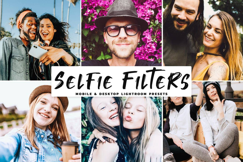 Selfie Filters Mobile & Desktop Lightroom Presets
